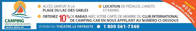 Bande-annonce Camping Ste-Agathe